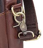 Сумка мужская Vintage 14438 Коричневая, фото 8