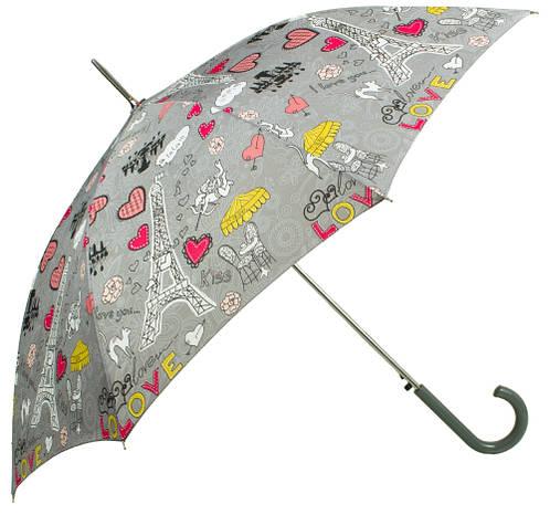 Романтичный зонт-трость женский полуавтомат AIRTON (АЭРТОН) Z1627-8