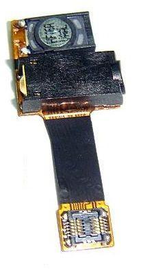 Шлейф Samsung S8500 Wave с разьёмом гарнитуры и динамиком