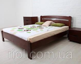Ліжко з бука Нова без ізножья ТМ Олімп