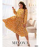 Платье №821-горчица р.48-50;52-54;56-58, фото 2