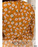 Платье №821-горчица р.48-50;52-54;56-58, фото 4