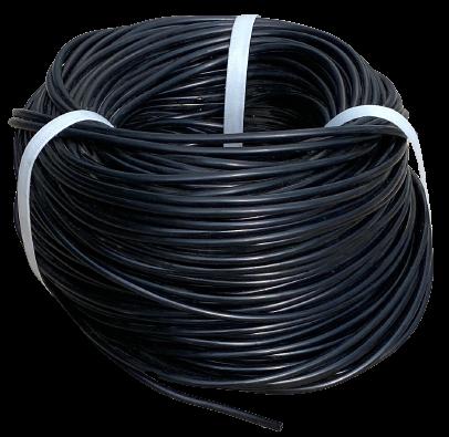 Трубка ПВХ для микрополива Интершланг 3х5 мм стенка 1 мм бухта 100 м