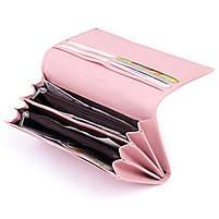 Кошелек на магнитах с клапаном женский ST Leather 30245 Розовый, фото 4
