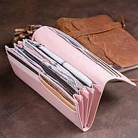 Кошелек на магнитах с клапаном женский ST Leather 30245 Розовый, фото 7