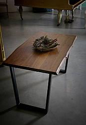 Стіл для кафе в стилі LOFT з металевими ніжками 120х70