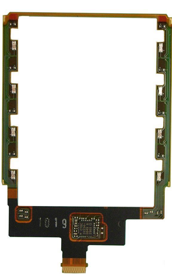 Шлейф Sony Ericsson C902i с сенсорными кнопками дисплея