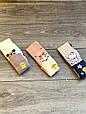 Колготи дитячі бавовна KBS з малюнком мишки прикрашені люрексом для дівчаток 5 років 6 шт в уп мікс з 3х кол, фото 6