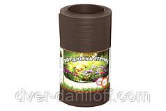 Бордюрная лента садовая Альта-Профиль расширенная 0,5х200х9000 мм коричневый