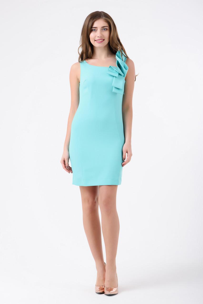 Платье мятное Rica Mare MKRM1788-18VS