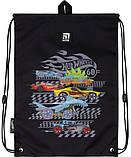 Рюкзак укомплектованный Kite Education Hot Wheels 35x26x13.5 см 12 л Черный (SET_HW20-555S), фото 4