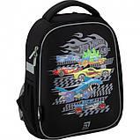 Рюкзак укомплектованный Kite Education Hot Wheels 35x26x13.5 см 12 л Черный (SET_HW20-555S), фото 2