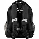 Рюкзак укомплектованный Kite Education Hot Wheels 35x26x13.5 см 12 л Черный (SET_HW20-555S), фото 3