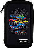 Рюкзак укомплектованный Kite Education Hot Wheels 35x26x13.5 см 12 л Черный (SET_HW20-555S), фото 5