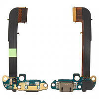 Шлейф HTC One M7 801e / One M7 801n с разъемом зарядки и микрофоном Original