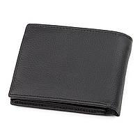 Мужской кошелек ST Leather 17927 (ST108) из натуральной кожи Черный, фото 2