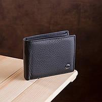Мужской кошелек ST Leather 17927 (ST108) из натуральной кожи Черный, фото 7