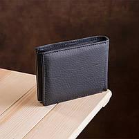Мужской кошелек ST Leather 17927 (ST108) из натуральной кожи Черный, фото 8
