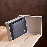 Мужской кошелек ST Leather 17927 (ST108) из натуральной кожи Черный, фото 10