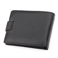 Чоловічий гаманець ST Leather 13334 (ST102) натуральна шкіра Чорний, фото 2