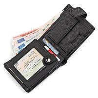 Чоловічий гаманець ST Leather 13334 (ST102) натуральна шкіра Чорний, фото 3