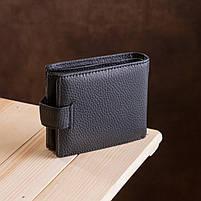 Чоловічий гаманець ST Leather 13334 (ST102) натуральна шкіра Чорний, фото 8