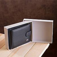 Чоловічий гаманець ST Leather 13334 (ST102) натуральна шкіра Чорний, фото 10