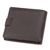 Мужской кошелек ST Leather 16447 (ST153) функциональный Коричневый, фото 2