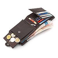 Мужской кошелек ST Leather 16447 (ST153) функциональный Коричневый, фото 5