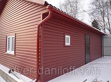 Сайдинг акриловый Альта-Профиль KANADA Плюс Премиум двухпереломный 3660х230х11 мм красный, фото 3