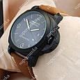 Модные наручные часы Panerai Officine 1860 Black/Black-milk 3802, фото 2