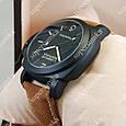 Модные наручные часы Panerai Officine 1860 Black/Black-milk 3802, фото 3