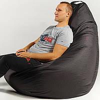 Кресло мешок пуфик груша сирень XХL 150х100 см