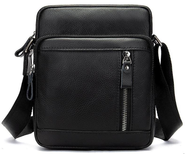 Сумка мужская Vintage 14701 Черная