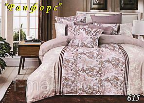 Комплект постельного белья Тет-А-Тет (Украина) полуторный  ранфорс (615)