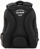Рюкзак школьный каркасный Kite Education Off-road для мальчиков 790 г 35 x 26 x 13.5 см 24 л Черный (K20-555S-, фото 3