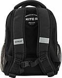Рюкзак школьный каркасный Kite Education Off-road для мальчиков 790 г 35 x 26 x 13.5 см 24 л Черный (K20-555S-, фото 4