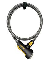 Велозамок Onguard 8040L AKITA 300см х 12мм Черный, фото 1