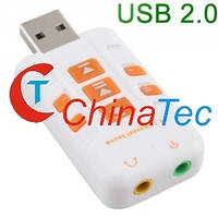Звуковая карта USB 7.1-CH