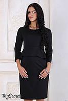 Изысканное платье Catherine для будущих и кормящих (черный), фото 1