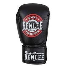 Перчатки боксерские Benlee PRESSURE /PU/черно-красно-белые, фото 2