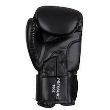 Перчатки боксерские Benlee PRESSURE /PU/черно-красно-белые, фото 3