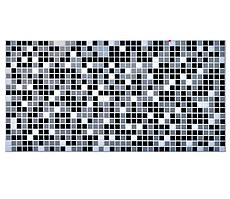 Декоративная Настенная Панель ПВХ Grace (Мозаика черная)