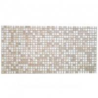 Декоративная Настенная Панель ПВХ Grace (Мозаика коричневая с узорами)