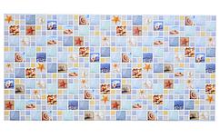 Декоративная Настенная Панель ПВХ Grace (Мозаика лагуна арт)