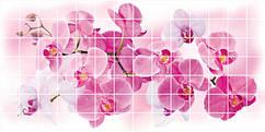 Декоративная Настенная Панель ПВХ Grace (Мозаика орхидея розея)