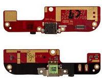 Нижняя плата HTC Desire 200 c разъемом зарядки и микрофоном Original