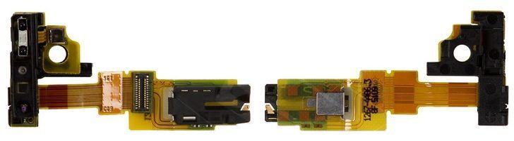 Шлейф Sony Xperia ZR M36h C5502 / M36i C5503 разъема наушников и подсветки дисплея Original