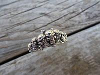 "Серебряное кольцо ""Seven skulls"" от WickerRing"