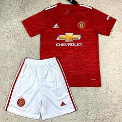 Детская футбольная форма Манчестер Юнайтед сезон 2020-21